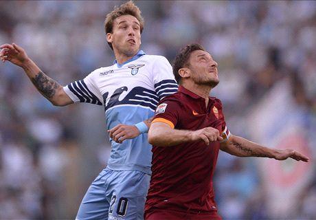 Late flurry sees Roma topple Lazio