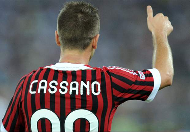 AC Milan's Antonio Cassano thanks Real Madrid & Jose Mourinho for message of support