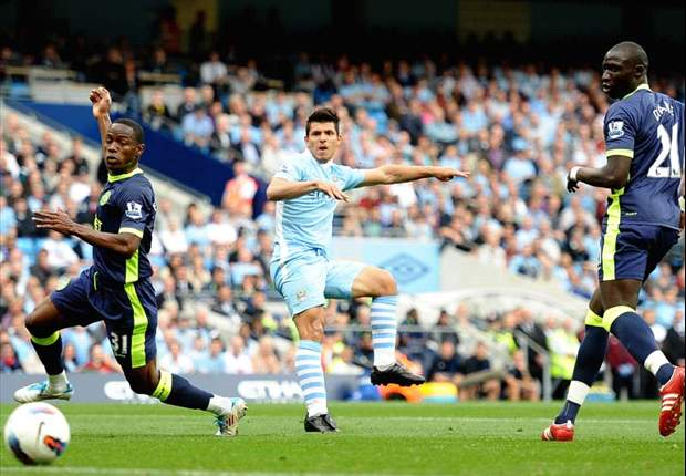 Manchester City 3-0 Wigan: Sergio Aguero Hits Hat-Trick As Carlos Tevez Misses Penalty On Return To Starting XI