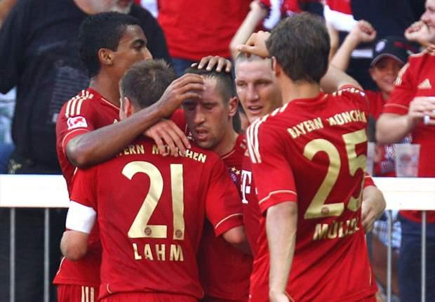 Bayern Munich 7-0 Freiburg: Mario Gomez bags four & Frank Ribery nets two in thumping win