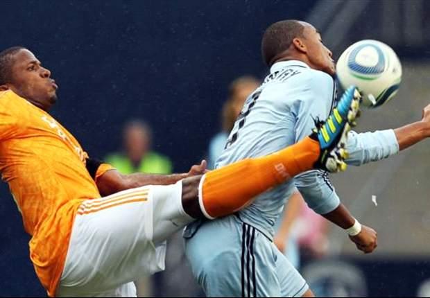 Sporting Kansas City 3-0 Houston Dynamo: Teal Bunbury grabs a brace for Sporting