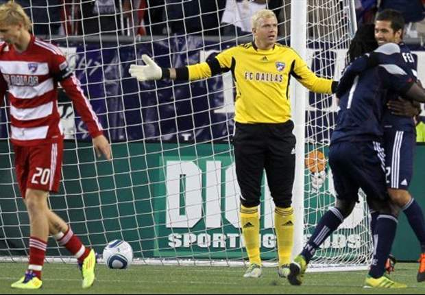 New England Revolution 2-0 FC Dallas: Hoops fall in New England