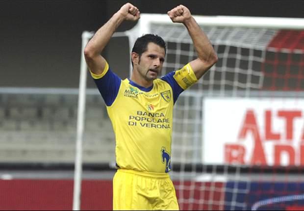 Chievo-Udinese, le formazioni ufficiali: Corini conferma il tridente Luciano-Thereau-Pellissier, Guidolin punta su Maicosuel a supporto di capitan Di Natale