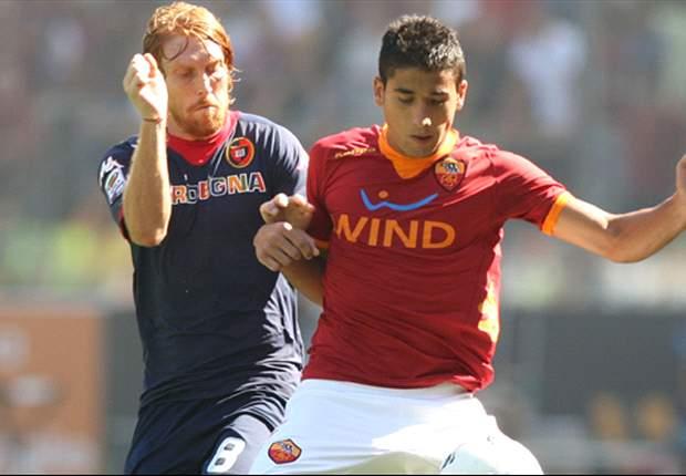 Roma 1-2 Cagliari: Conti & El Kabir goals stun Luis Enrique's men