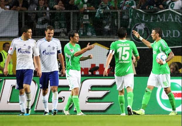 Felix Magath atmet durch: VfL Wolfsburg schlägt Schalke 04 dank Mario Mandzukic