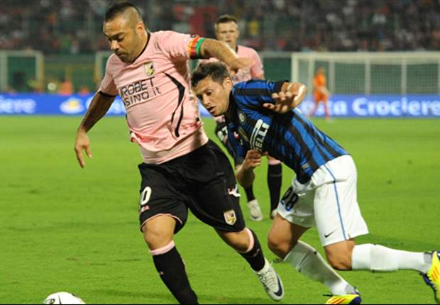 Palermo 4-3 Inter: Masterful Miccoli condemns Gasperini's side to defeat