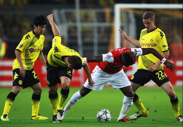 Borussia Dortmund 1-1 Arsenal: Late Perisic Equaliser Cancels Out Van Persie Opener