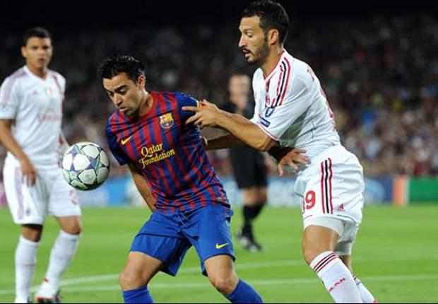 Milan arranca empate do Barça na estreia da Champions