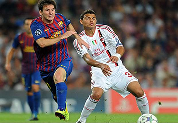 AC Milan's Thiago Silva: Equaliser against Barcelona was my best-ever headed goal