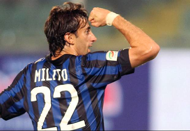 TEAM NEWS: Diego Milito & Dejan Stankovic Return For Inter Against Catania