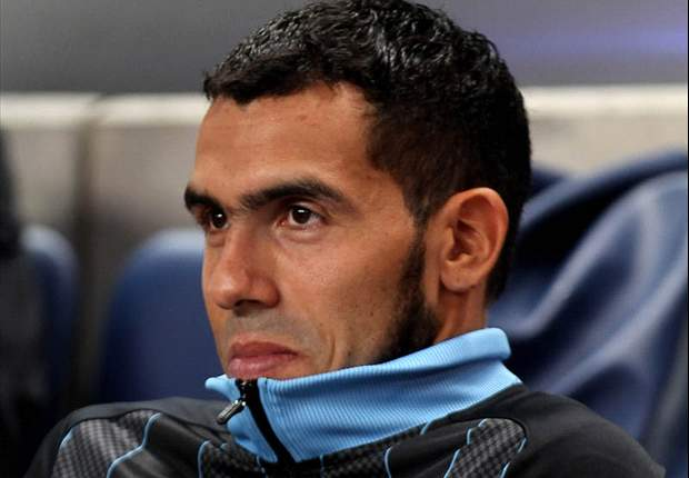 Manchester City forward Carlos Tevez fined for speeding offence
