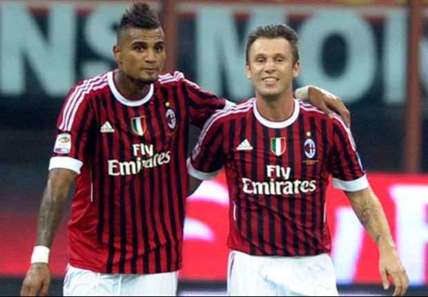 Non solo Thiago e Ibra, l'assedio delle 'big' d'Europa al Milan travolge anche 'Boa' e Cassano! Gli sceicchi puntano Fantantonio, il ghanese piace a Real e United