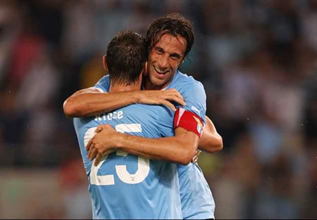 Stefano Mauri Gembira Cetak Gol Ke Gawang AS Roma