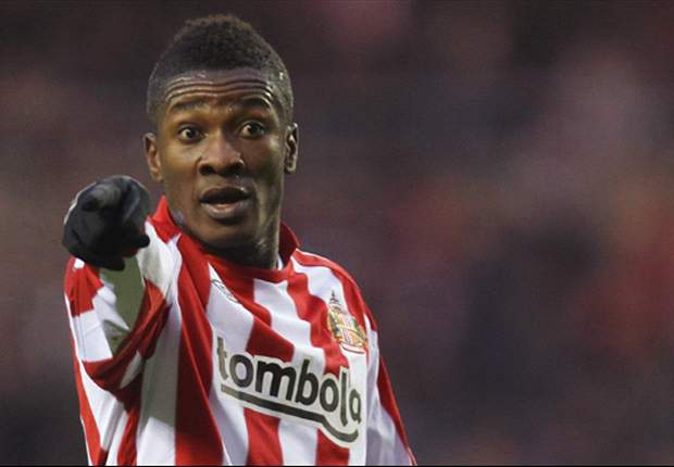 Gyan unwilling to return to Sunderland, believes O'Neill