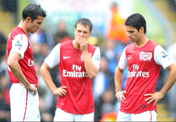 Arsenal Manager Arsene Wenger Considers Resting Robin Van Persie & Mikel Arteta & Handing Champions League Debut To Alex Oxlade-Chamberlain Against Olympiakos