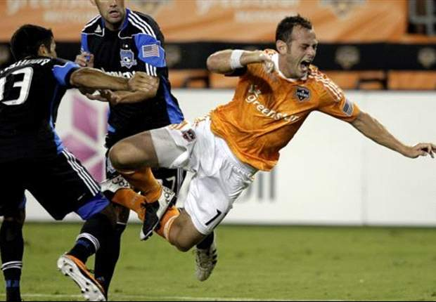 Houston Dynamo 2-1 San Jose Earthquakes: Will Bruin nets winner for Texans