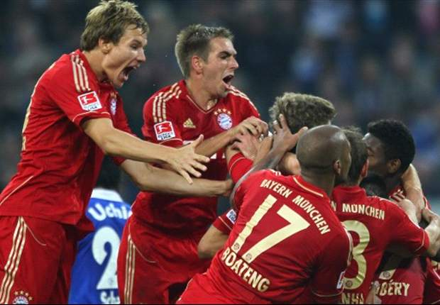 Schalke 0-2 Bayern Munich: Visitors Reclaim First Place In Bundesliga With Fifth Straight Win