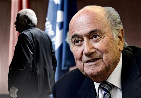 'Small countries are to blame for Blatter'