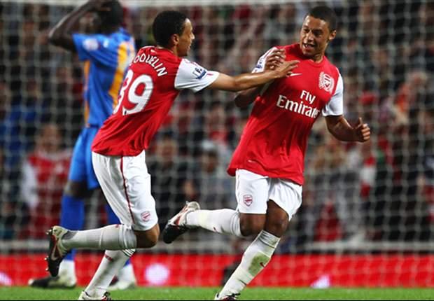 Arsenal 3-1 Shrewsbury: Oxlade-Chamberlain & Yossi Benayoun complete comeback after early scare for Arsene Wenger's side