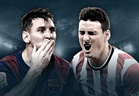 LIVE: Athletic 0-0 Barcelona