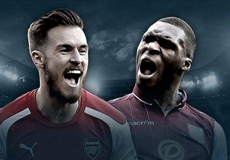 LIVE: Arsenal - Aston Villa