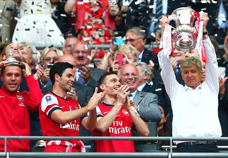 Wenger's love affair with the FA Cup