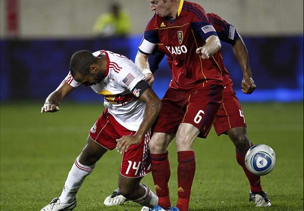 New York Red Bulls 1-3 Real Salt Lake: Hosts crumble with shambolic opening stanza