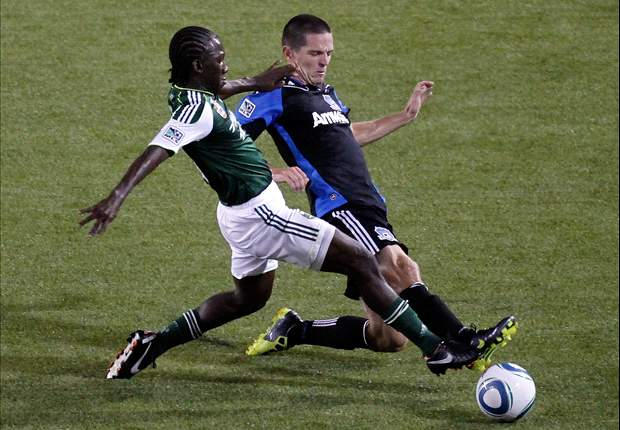 Portland Timbers 1-1 San Jose Earthquakes: Sellout draw moves Timbers back into playoff position