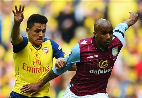 LIVE: Arsenal 3-0 Aston Villa