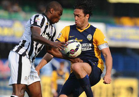 LIVE: Verona 1-2 Juventus