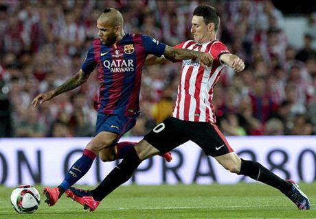 LIVE: Athletic Bilbao 0-1 Barcelona