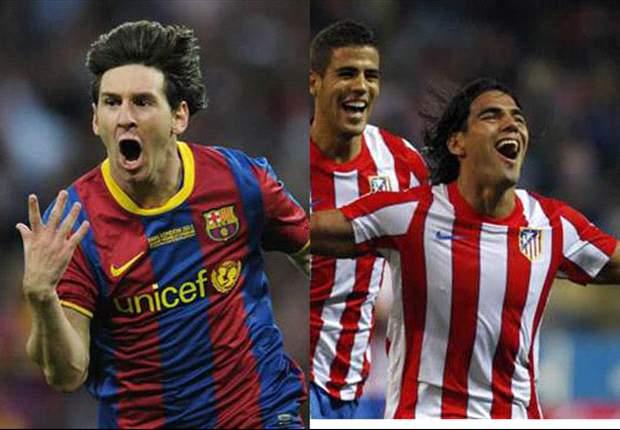 Messi, Falcao, Cavani y los máximos goleadores de las ligas de Europa