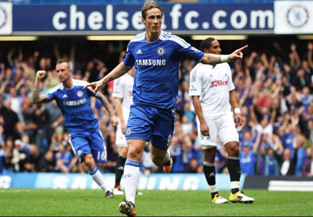 Chelsea 4-1 Swansea City: Torres scores and is sent off as Ramires and Drogba kill off Welsh threat