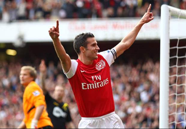 Right man, right place, right time: Why Robin Van Persie is finally fulfilling his world class potential for Arsenal