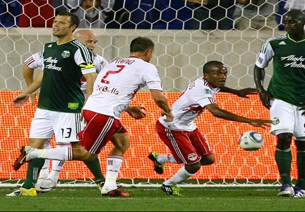 New York Red Bulls 2-0 Portland Timbers: Richards and Rodgers score for New York