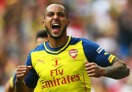 What does the summer hold for Walcott?