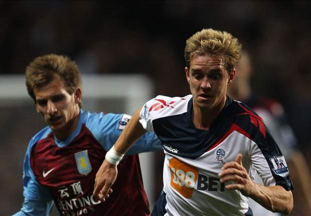 Stuart Holden striving for fitness in order to help Bolton's promotion hopes