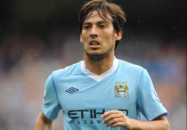 Manchester City fear lengthy David Silva absence after missing training session ahead of Liverpool showdown but Mario Balotelli & Edin Dzeko passed fit
