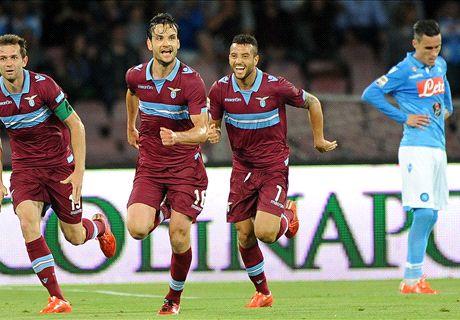 Lazio houdt stand in Napels