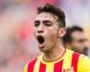 Auch Munir El-Haddadi konnte den Abstieg der Barca-Reserve nicht verhindern