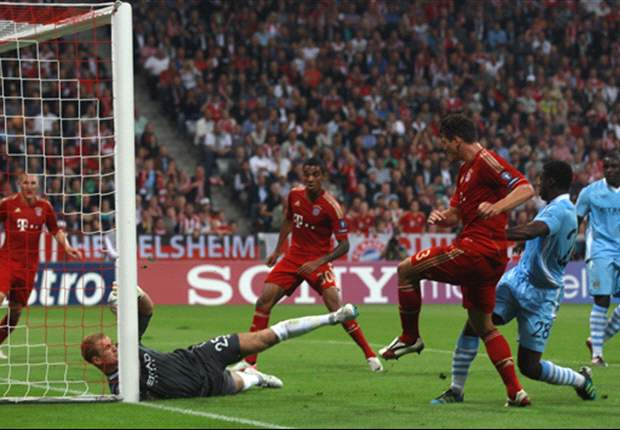 Bayern Munich 2-0 Manchester City: Mario Gomez strikes double as Mancini's men are outclassed in Germany