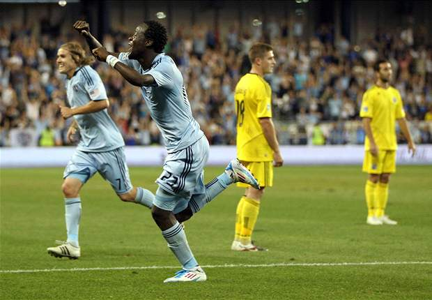 Sporting Kansas City 2-1 Columbus Crew: KC moves top of the East