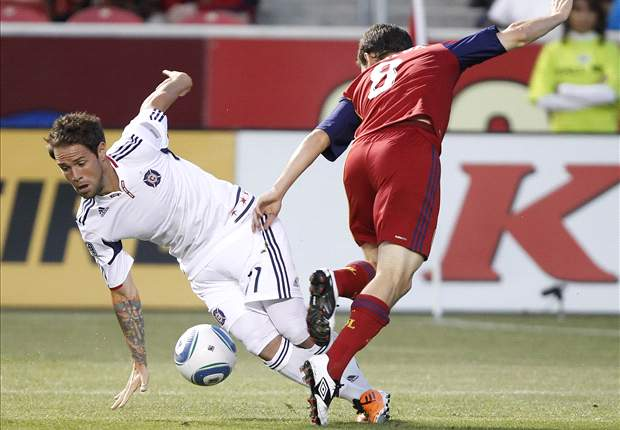 Real Salt Lake 0-3 Chicago Fire: Marco Pappa hat-trick fuels Fire