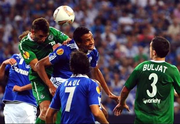 Schalke bezorgt Stevens prettige rentree