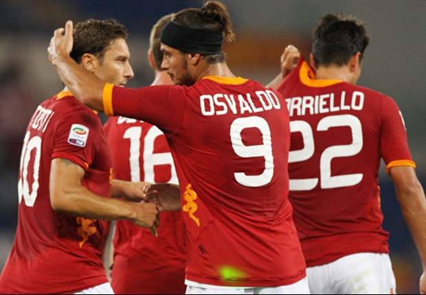 Roma 3-1 Atalanta: Bojan, Osvaldo and Simplicio give Luis Enrique second Serie A win
