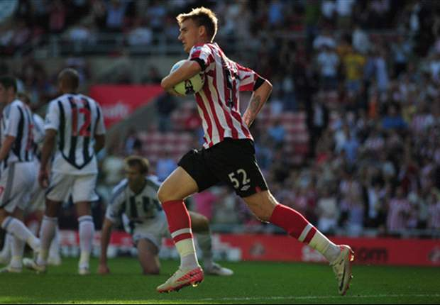 Sunderland 2-2 West Brom: Bendtner scores first goal as Bruce's men recover from disastrous first five minutes