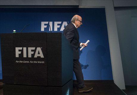 Blatter stapt op bij FIFA