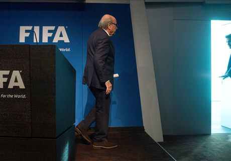 Blatter departs after scandal-ridden reign