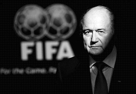 Blatter resigns as Fifa president