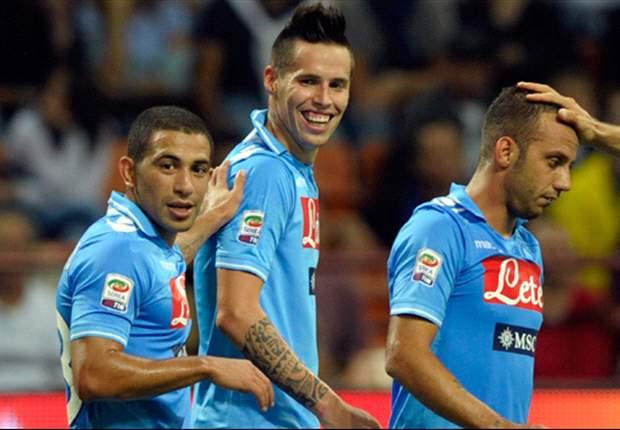 Manchester City following Napoli's Marek Hamsik & Ezequiel Lavezzi - coach Fausto Salsano